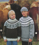 Icelandic sweaters and products - Icelandic Wool Sweater Pattern 12-29 Girl Icelandic Wool Sweater Pattern - Shopicelandic.com