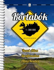 Road Atlas Iceland - 1:300.000 - Maps - Shop Icelandic Products