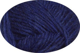 Icelandic sweaters and products - Lett Lopi 1403 - lapis blue heather Lett Lopi Wool Yarn - Shopicelandic.com
