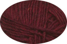 Icelandic sweaters and products - Lett Lopi 1409 - garnet red heather Lett Lopi Wool Yarn - Shopicelandic.com