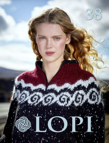 Icelandic sweaters and products - Lopi 38 Pattern Book Pattern Book - Shopicelandic.com