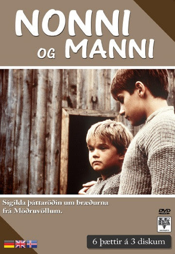 Nonni and Manni TV Series (3DVD) - DVD - Shop Icelandic Products