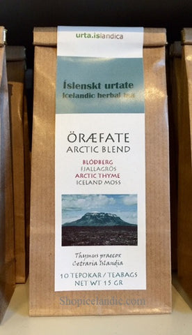 Icelandic sweaters and products - Arctic Blend - Öræfate - Herbal Tea Tea - Shopicelandic.com