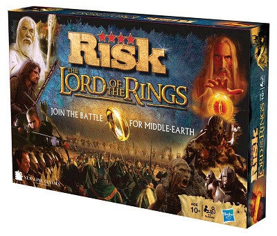 RISK - The Lord of Rings - Board Game - Puzzle - Shop Icelandic Products