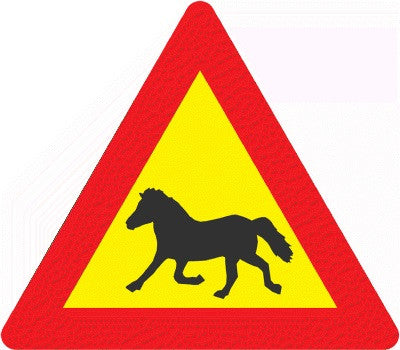 Road Sign - Horses - Road Signs - Shop Icelandic Products