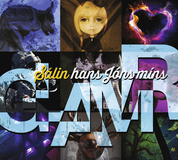 Sálin hans Jóns míns - Glamr (CD) - CD - Shop Icelandic Products