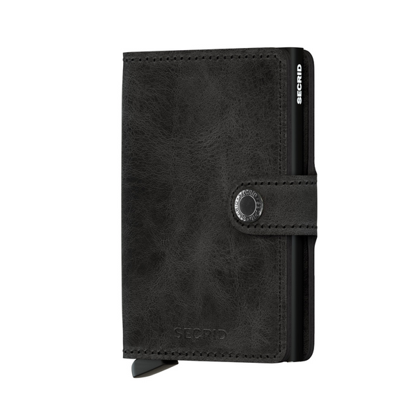 Miniwallet: Vintage Black - Wallet - Shop Icelandic Products - 1