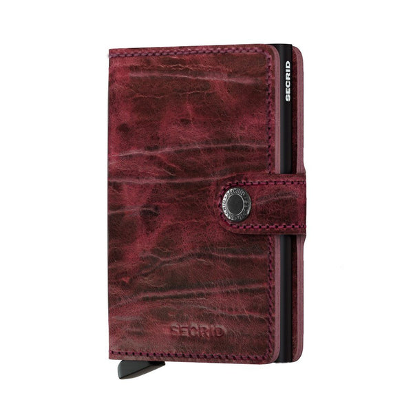 Miniwallet: Dutch Martin Bordeaux - Wallet - Shop Icelandic Products - 1