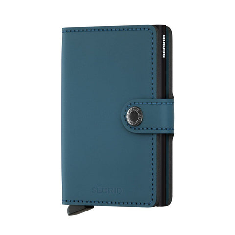 Icelandic sweaters and products - Miniwallet: Matte Petrol Wallet - Shopicelandic.com