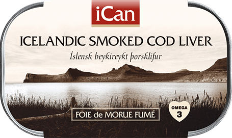 Smoked Cod Liver -  - Shop Icelandic Products