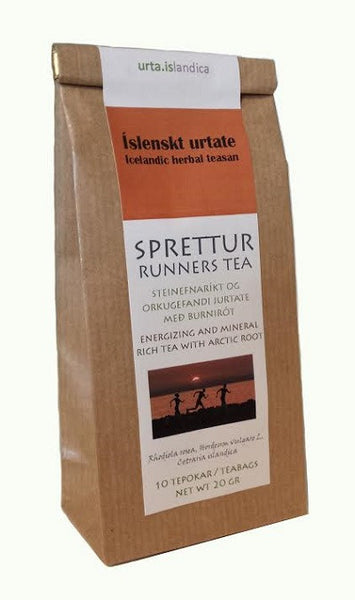 Sprettur - Runners Tea - Herbal Tea - Tea - Shop Icelandic Products
