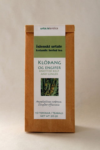 Knotted Kelp and Ginger - Herbal Tea - Tea - Shop Icelandic Products