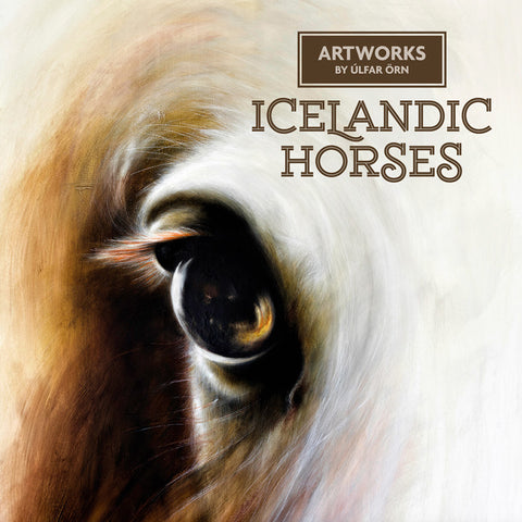 Icelandic Horses (Gola) - Artwork by Úlfar Örn - Fine Print - Shop Icelandic Products - 1