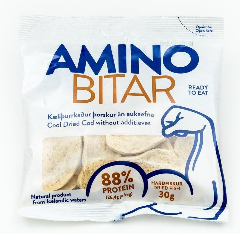 Cool dried cod fillets 30gr shopicelandic for Cod fish protein