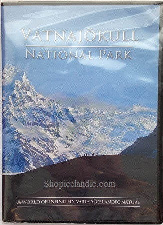 Icelandic sweaters and products - Vatnajokull National Park (DVD) DVD - Shopicelandic.com