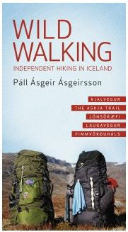 Wild Walking - Independent hiking in Iceland - Book - Shop Icelandic Products