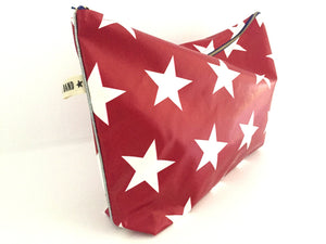 POUCH RED STARS