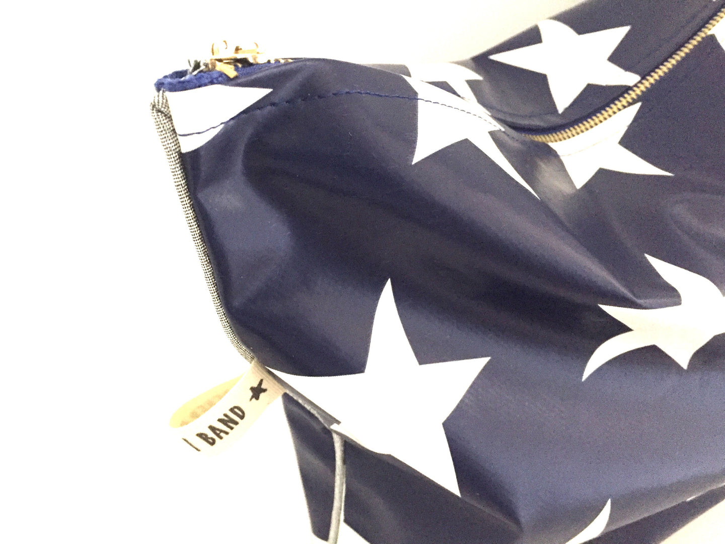 POUCH BLUE STARS