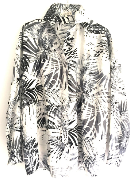 NEW! Camisa boyfriend jungle grey