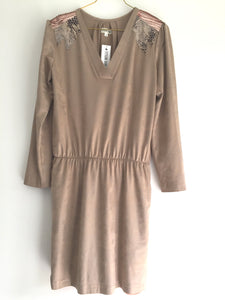Vestido Galones gris brown