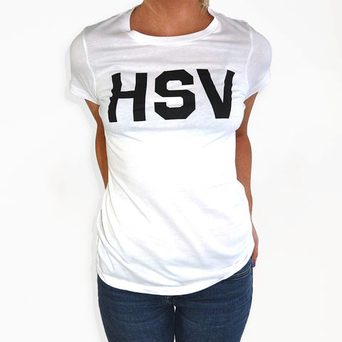HSV - SS White Ladies T-Shirt