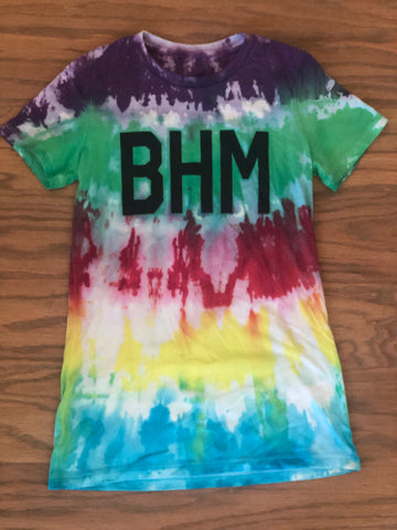 BHM - Ladies Tees, Tie-Dye