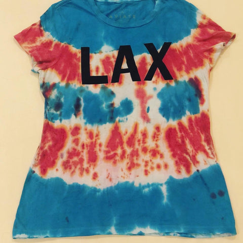 LAX - Ladies Tees, Tie-Dye