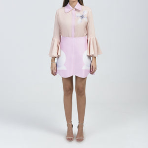Whitney Scallop Skirt