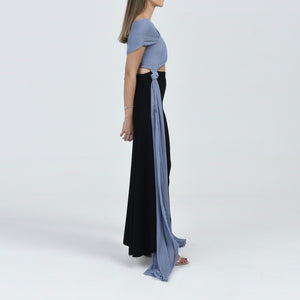 Off-Shoulder Pleated Top