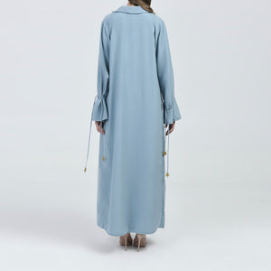 Star Strings Coat Abaya