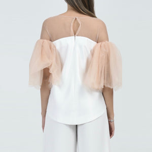 Lina Flare Sleeve Top
