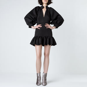 Neoprene Volume Dress