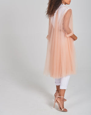 Tulle Volume Coat