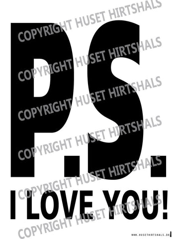 P.S. I LOVE YOU - Plakat