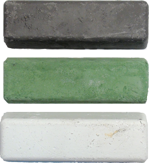 White, Green or Gray Sharpening Compound
