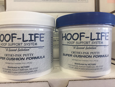 Hoof Life 2lb. Ortho-Pack Super Cushion Blue Putty(Extra Soft)