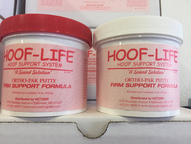 Hoof Life 2lb. Ortho-Pack Firm Support Pink Putty(Firm)