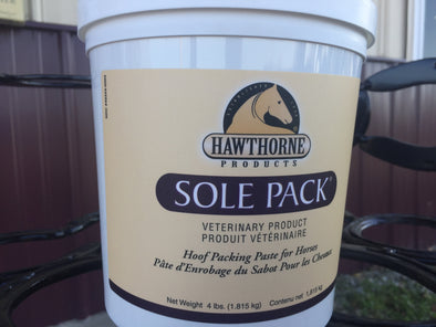 Hawthorne Sole Pack 4lb Tub