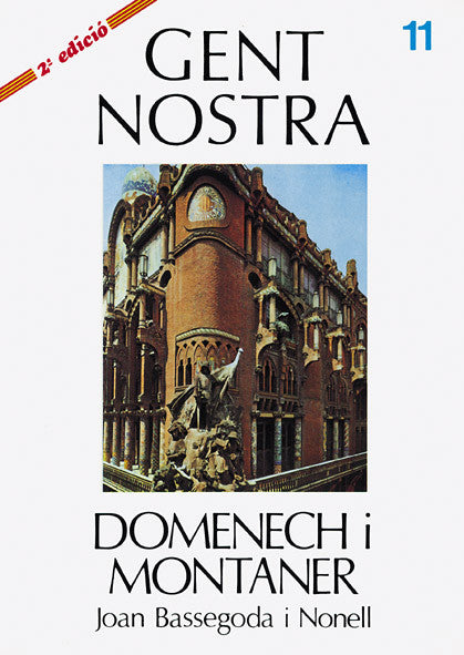DOMÈNECH I MONTANER, Joan Basse godai Nonell