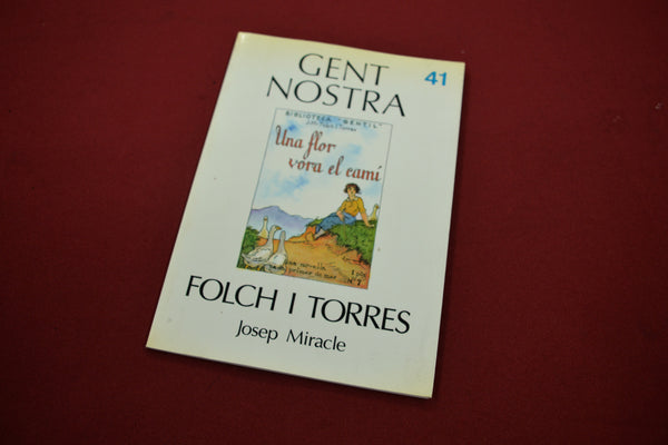 FOLCH I TORRES, Josep M. Miracle