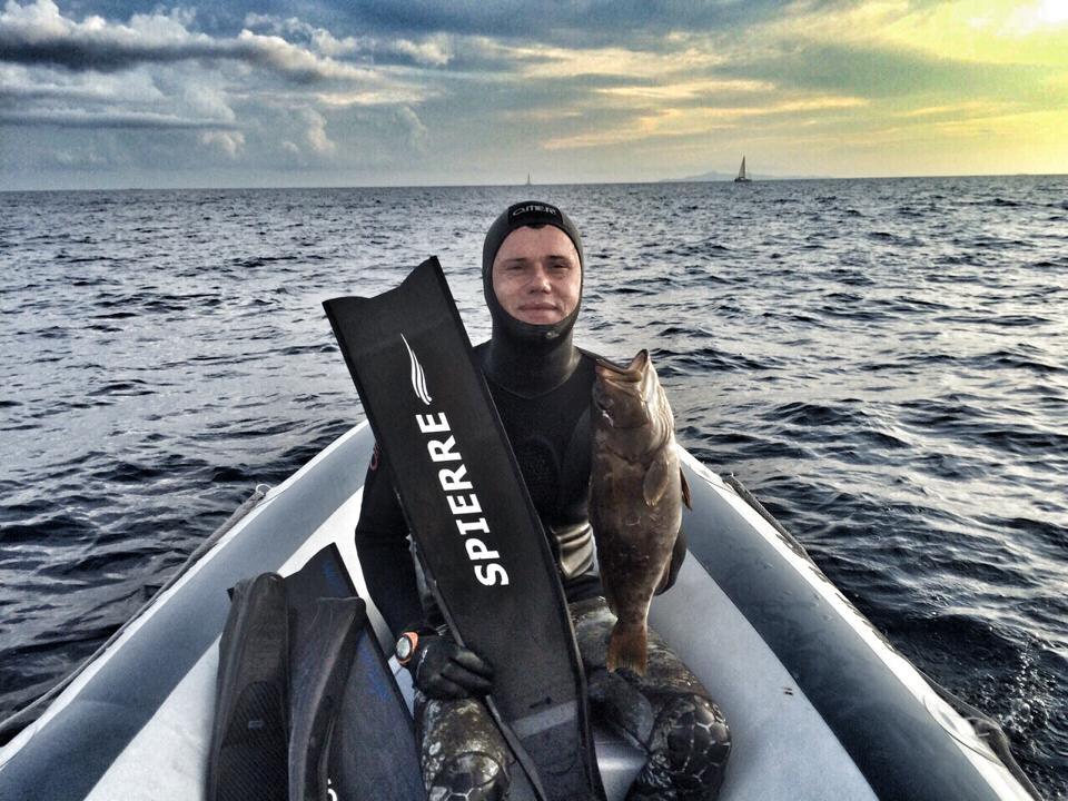 Spierre Fins Spearfishing World Champs Croatia