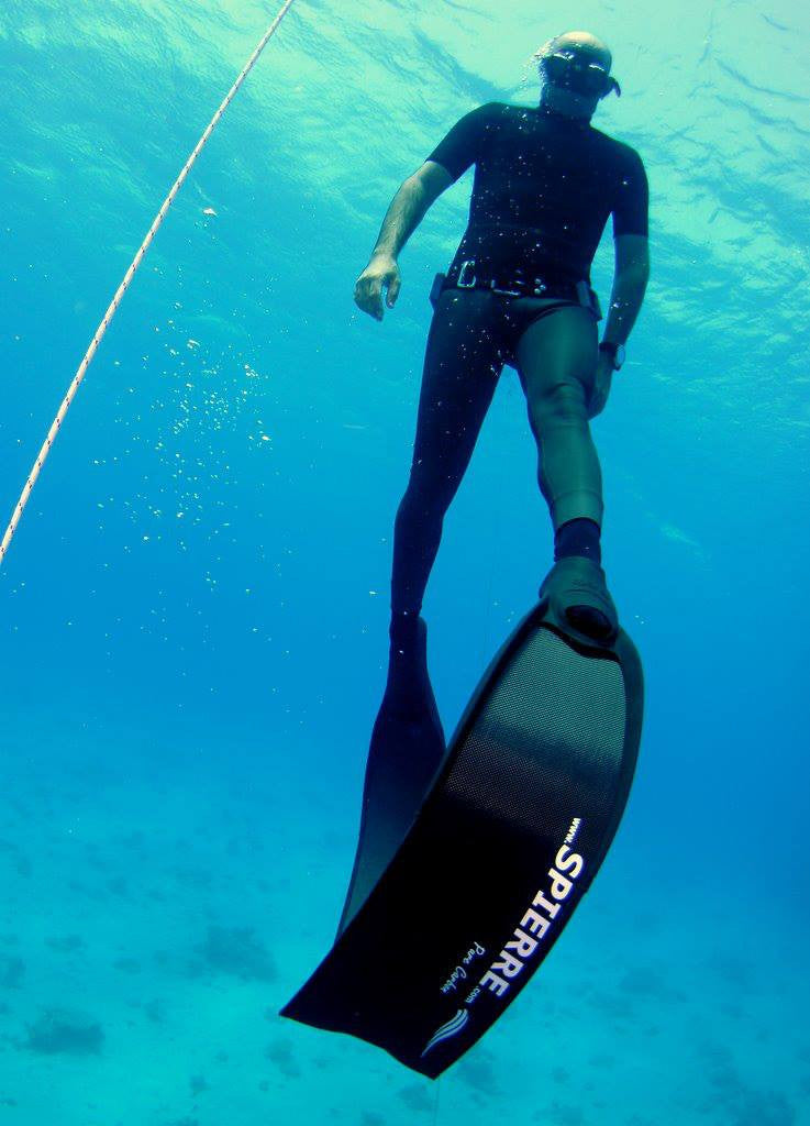 Israeli Freediver Alon Rivkind and Spierre Pure Carbons