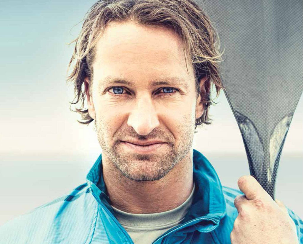 Chris Bertish about to arrive in Antigua after a mammoth SUP journey!