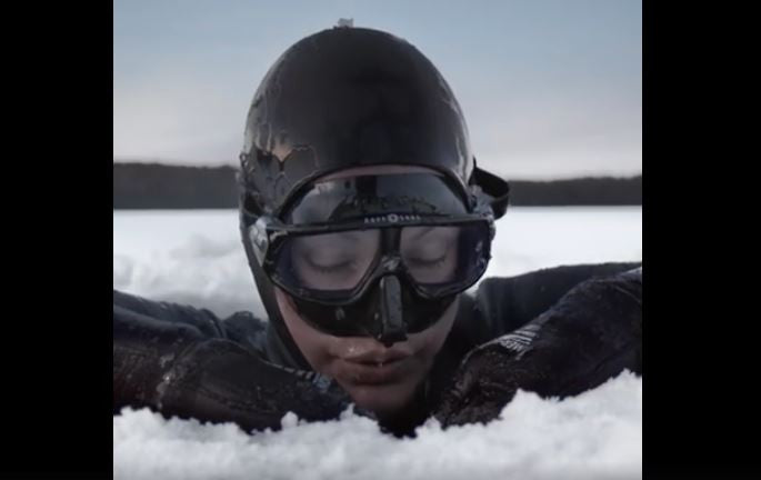 Arctic Freediving Helped Her Save Her Leg. Now She Has a World Record!