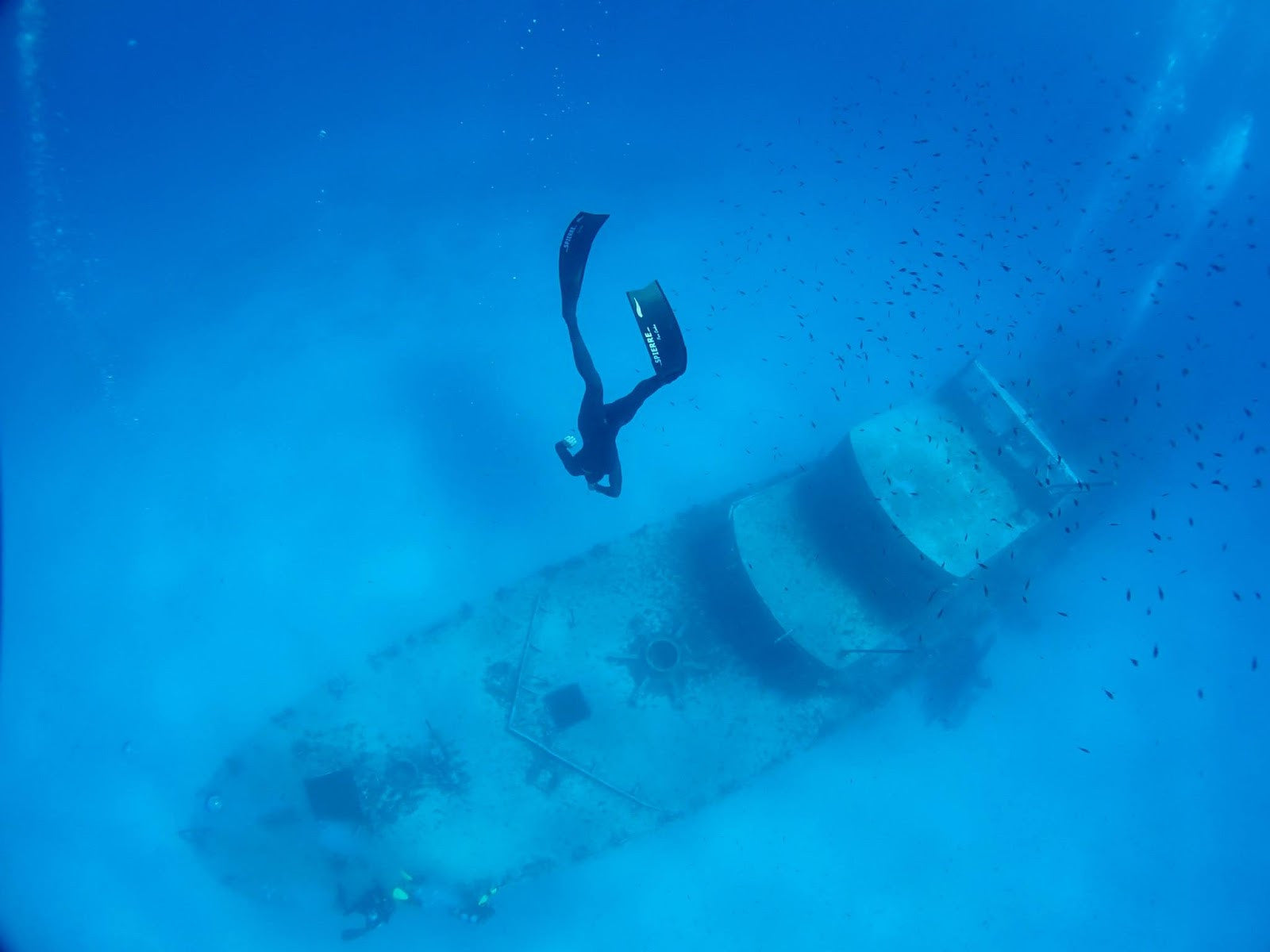 Rune Hallum Freediving in Malta