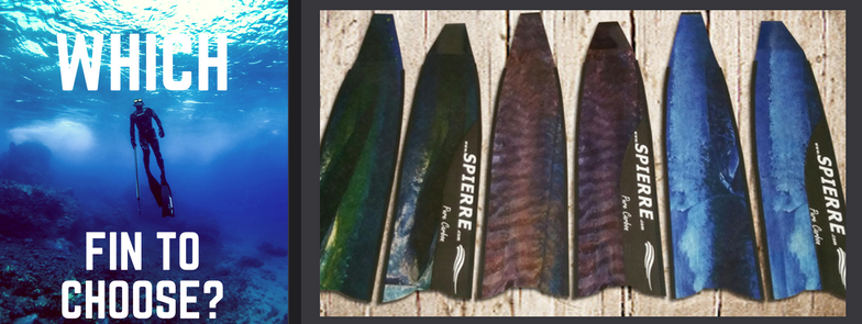 How to select the right fin for spearfishing and freediving by Spierre