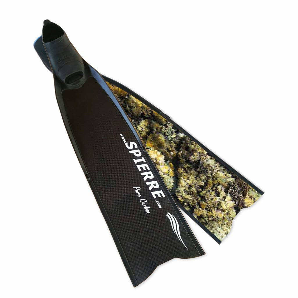 Pure Carbon Yellow Reef Fin Blades (Power Range) - Spierre