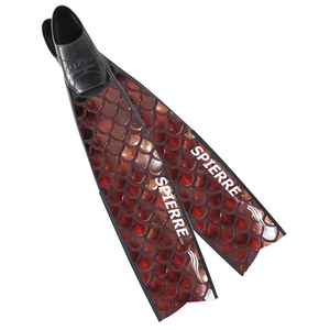 NEW - 3D Complete Pure Carbon Rose Bronze Scales Blades (Apnea Range)