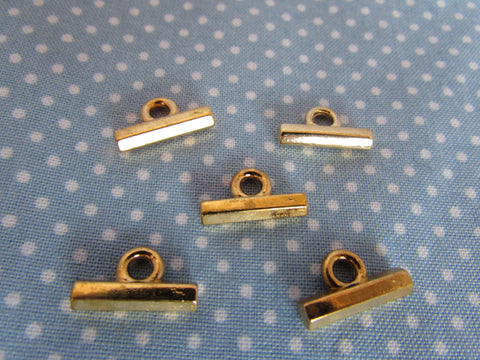 Gold T Bar Buttons