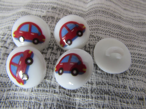 Round Car Buttons